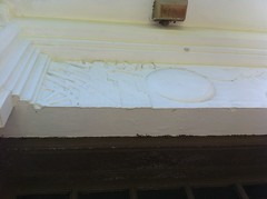 Bas relief transom. Charlotte Hyatt Elementary School. Moss Point, Miss