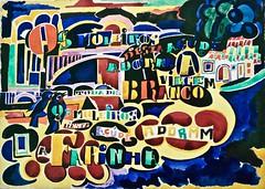 Song of Açude - A Poem in Colour (c.1915-1916) - Amadeo de Souza-Cardoso (1897-1918)