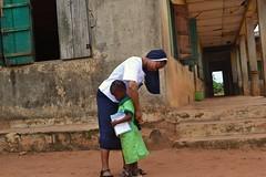 Local school children benefit from the Bridge of Care Programme in Louisville Girls High School Ijebu-Itele, Ogun State, Nigeria