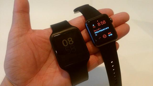 画面サイズはApple Watchがちょうどいい
