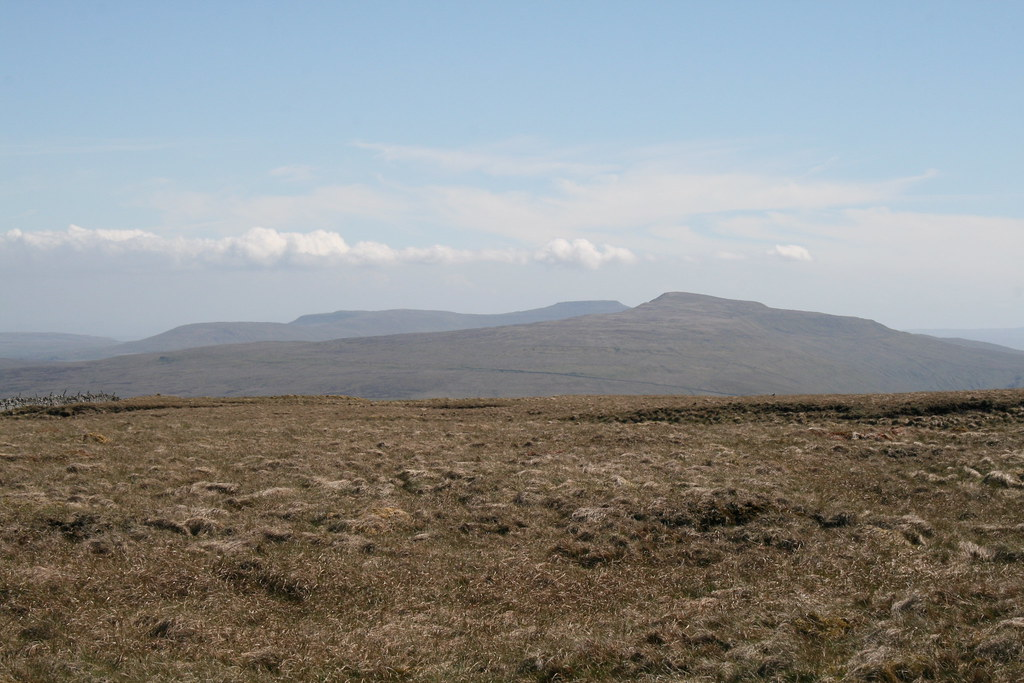 Ingleborough and Whernside from Baugh Fell