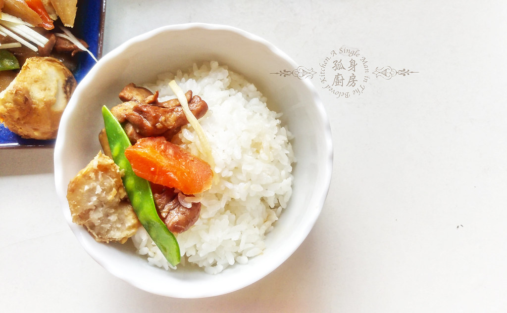 孤身廚房-食譜書《常備菜》試作——筑前煮、醬煮金針菇。甜滋滋溫暖和風味24
