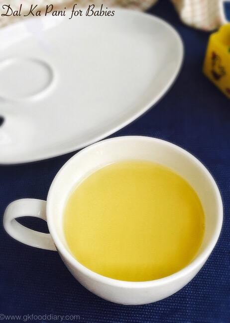 Lentil soup for Babies
