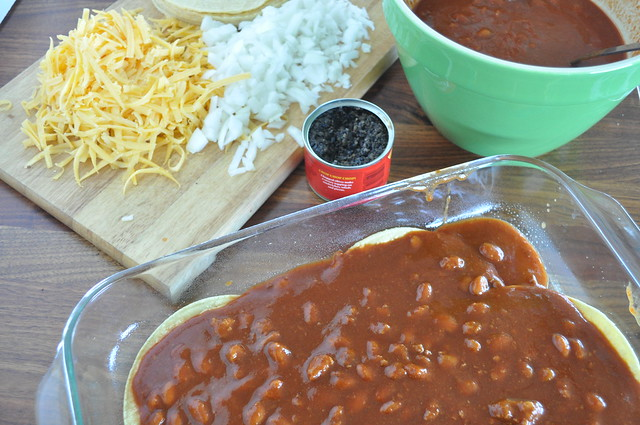 5-Minute Enchilada Pie