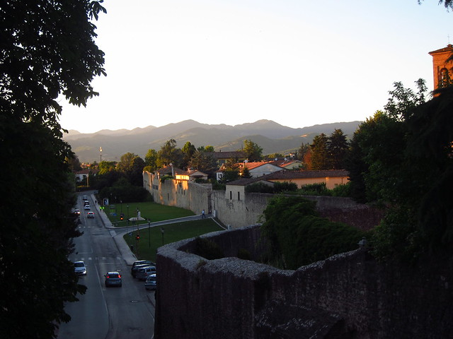 View North from Giardini Duomo