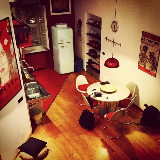 I'm in love with our #Torino apartment! When can I move in?? #Italy #Airbnb #travel #remoteyear
