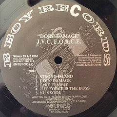 J.V.C. F.O.R.C.E.:DOIN' DAMAGE(LABEL SIDE-A)