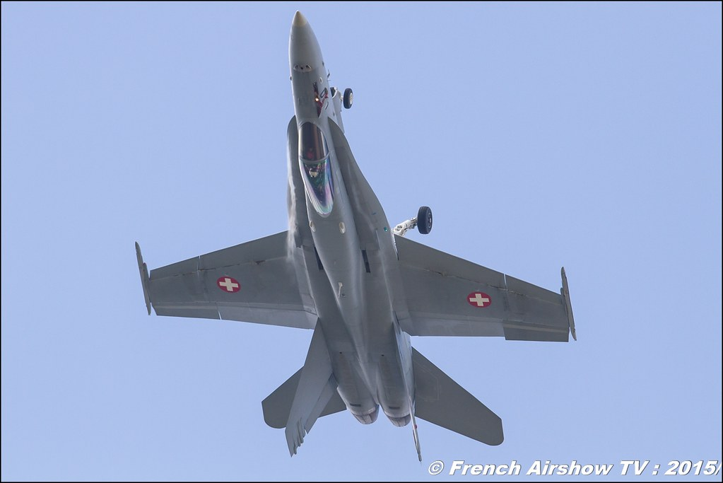 F/A-18 Hornet Swiss display 2015, F-18 solo display 2015,SWISS HORNET DISPLAY TEAM, meeting aerien BA-116 Luxeuil St Sauveur LFSX, Meeting Aerien 2015