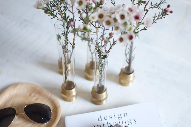 Quick Diy Test Tube Bolt Vases A Pair A Spare