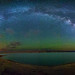 Lake Mead Panorama by Wayne Pinkston