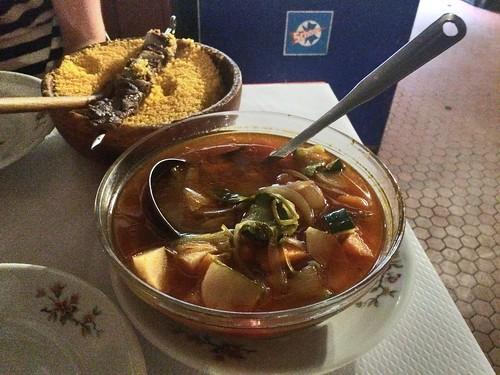 Couscous with stew, Chez Hamadi, Paris Latin Quarter