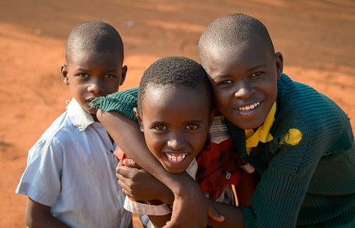 Marasi Primary School Students (Kenya) by Geoff Livingston