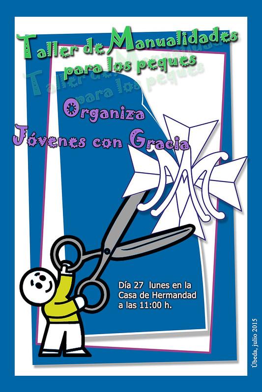 Cartel manualidades 2015