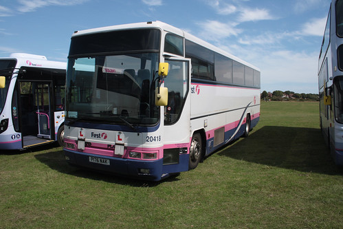 First Hampshire and Dorset 20418 P176NAK