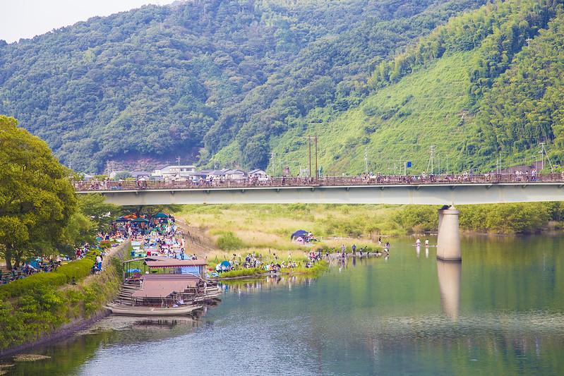 錦帯橋花火大会20150808_23
