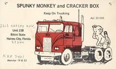 Rapid Press: Spunky Monkey & Cracker Box - Haines City, Florida