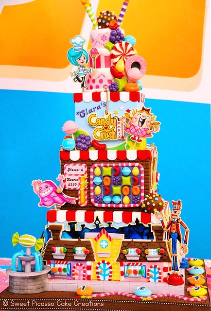 Candy Crush Cake by Sweet Picasso Cake Creations