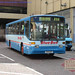 A Blue Bus in Cannon Street by Museum of Transport Greater Manchester archive