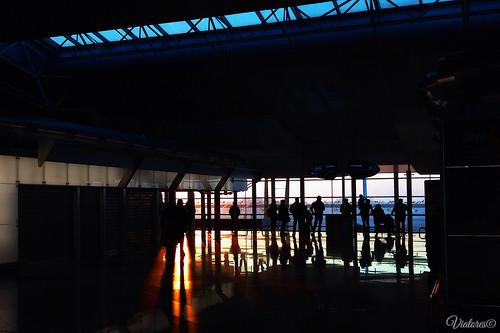 Aeroport Porto. Portugal