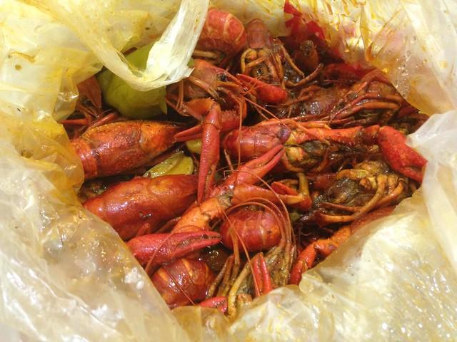 Chinese 13 Flavor Crayfish, Yangpu, Shanghai