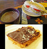 20140711_04 Vegan sandwich, hot chocolate, & AMAZING Snickers cake | Hedbergs Bok- & Musikkafé, Visby, Sweden by ratexla