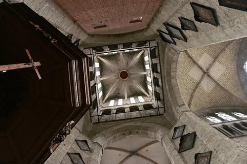 Gent: interni della chiesa di San Nicola