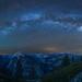 Milky Way over Glacier Point, Yosemite Park, California (Explored) by Wei, Willa