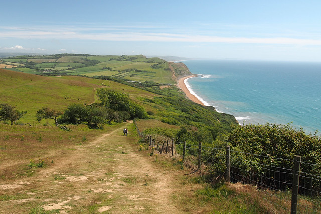 View to Seatown and Eype