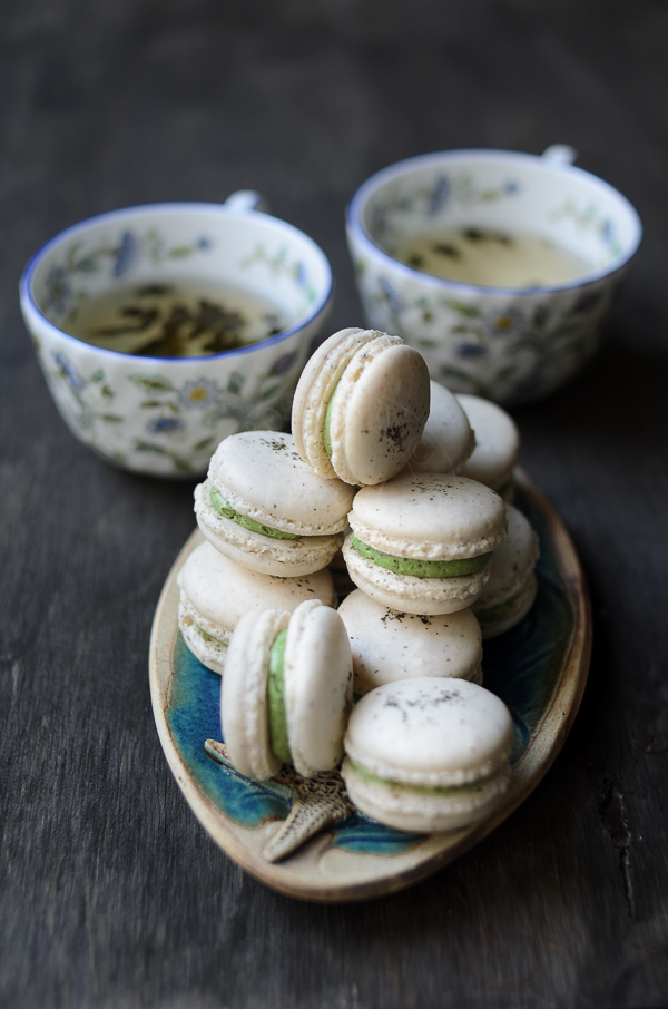 Jasmine Tea Macarons
