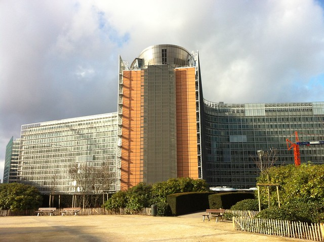 Berlaymont - European Commission's main building 歐盟執委會的心臟建築