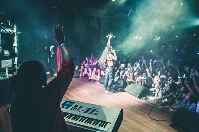 Kehlani performing 1.0