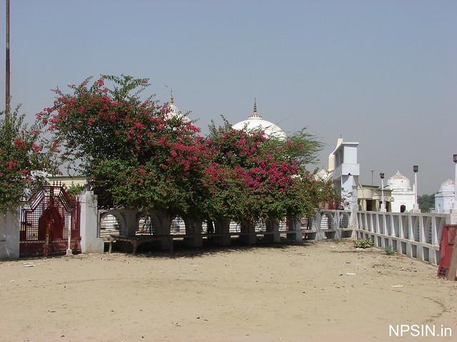Parking area in Baba Bateshwarnath Dham