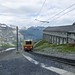 Train to the Eiger Gletcher station (Kerrie Porteous)