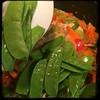 #Homemade Thai-Influenced Chicken & Veggies #CucinaDelloZio - snow peas