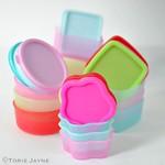 Mini storage pots