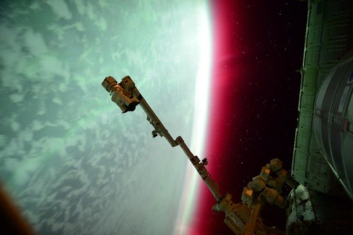 #Funfactfriday -- Aurora Seen From the International Space Station