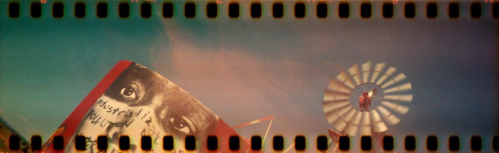 Cross processed Ektachrome in a Kodak Jiffy Six-16