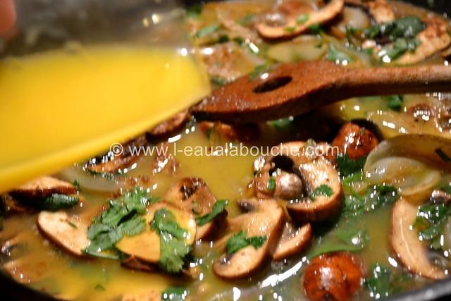 Magret de Canard Orange Miel Champignons de Paris © Ana Luthi Tous droits réservés 006