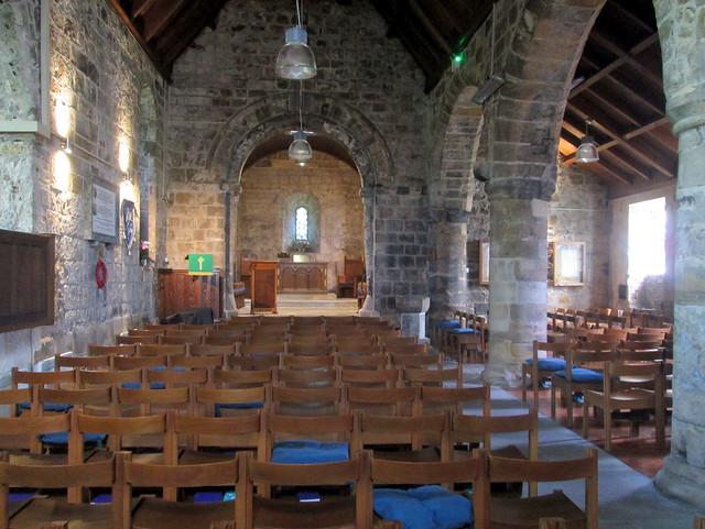 St  Fillan's kirk interior