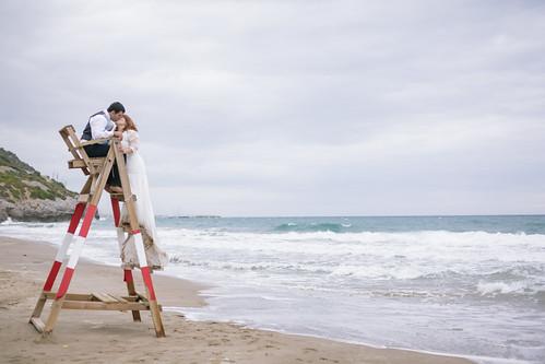 Playa del Garraf, la postboda Jordi + Laia - JDaudiovisuals