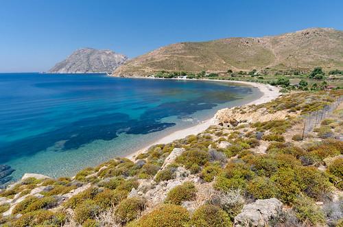 Patmos - beach near Alikes