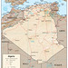 Small photo of Algeria - map