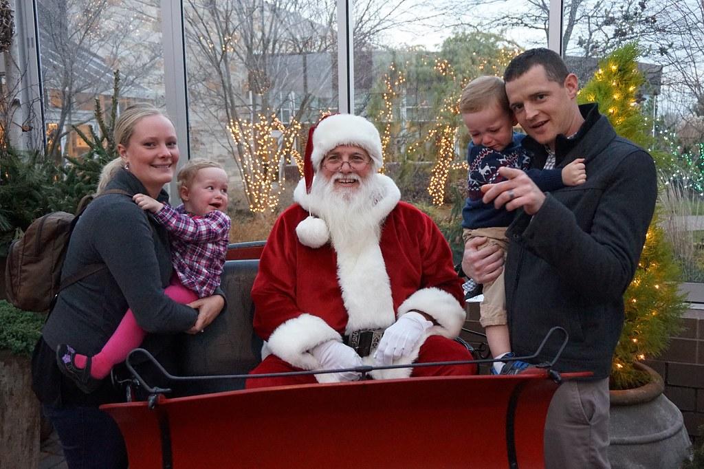 Nugent kids thrilled to see Santa