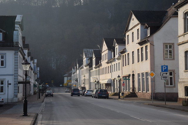 streets of Bad Karlshafen