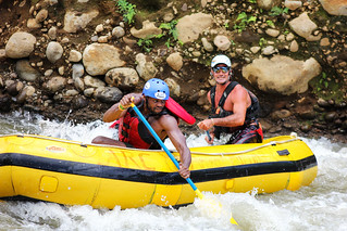 Balsa River white water rafting, Costa Rica