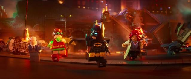 Scena z The LEGO Batman Movie 12