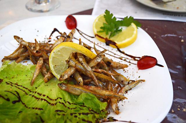 Fried fish, Casa Mediterranea, Puerto de la Cruz, Tenerife