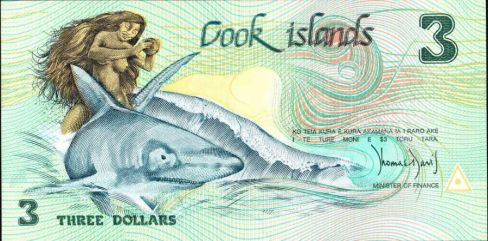 cook_islands banknote