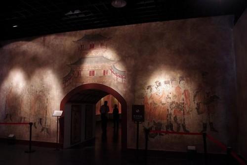 昭陵博物馆壁画