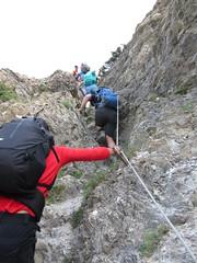 soil(0.0), walking(0.0), ridge(0.0), hiking equipment(0.0), abseiling(0.0), adventure(1.0), sports(1.0), recreation(1.0), outdoor recreation(1.0), mountaineering(1.0), rock climbing(1.0), sport climbing(1.0), geology(1.0), extreme sport(1.0), climbing(1.0),